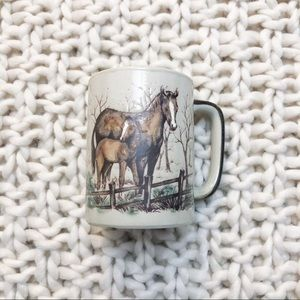Adorable Horse and Foal Mug